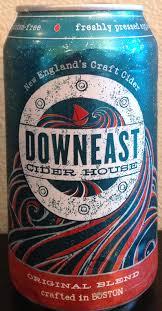 Ace Pumpkin Cider Gluten Free by Downeast Cider House Original Blend Cider Says