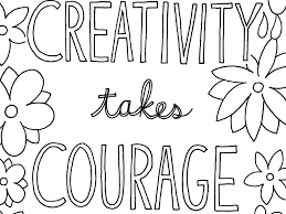 Extremely Creative Quote Coloring Pages The 25 Best Ideas On Pinterest Image Gallery Collection