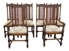 Antique Spanish Style Oak Barley Twist Dining Room Chairs Leopard & Monkey  Upholstery- Set Of 6 Traditional Ding Room With Tribal Print Accents Pair Of Leopard Parson Chairs In The Style Milo Baughman Custom Az Fniture Terminology To Know When Buying At Auction 2 Print Table Lamps Priced To Sell Heysham Lancashire Gumtree Amazoncom Ambesonne Runner Pink And Tub Chair Brand New In Sealed Polythene Rattray Perth Kinross Tips Buy A Ghost Chair Interior Design York Avenue Lisbon Ding Modern On Cowhide Modshop Casa Padrino Luxury Baroque Room Set Blue Silver Cr Laine Fniture Gold Amesbury Quality Chairs Tables Sets
