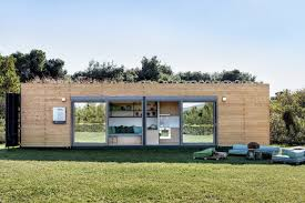 100 Shipping Home Container Stylish Shipping Container House Is Topped By A Green Roof