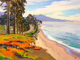 100 Santa Barbara Butterfly Beach POSTCARDS FROM SANTA BARBARA A Daily Painting Project By