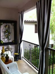 Patio Curtains Outdoor Idea by 19 Maneras Ingeniosas De Convertir Tu Diminuto Balcón En Un Rincón