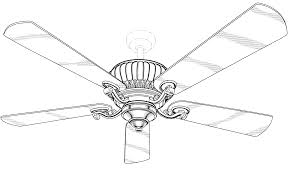 Ceiling Fan Drawing Lader