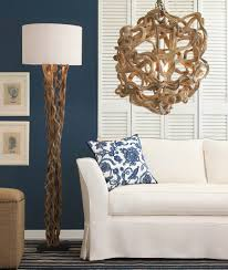 Mainstays Floor Lamp Dark Wood Finish by Unique Floor Lamps Charming And Unique Driftwood Floor Lamp With