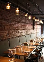 Modern Restaurant Wall Design Formidable Best 25 Brick Ideas On Pinterest Industrial Home 1