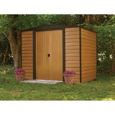 6 X 6 Wood Storage Shed by Woodridge 8 X 6 Ft Steel Storage Shed
