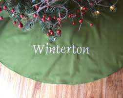 More Colors Personalized Christmas Tree Skirt