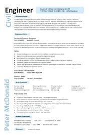 Civil Site Engineer Resume Sample Pdf