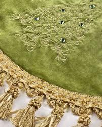 Jeweled Tree Christmas Skirt Alt