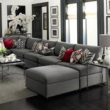 wohnzimmer grau braun elegantes wohnzimmer grau rote