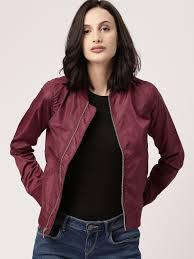 jackets buy leather jackets denim jackets for men u0026 women myntra