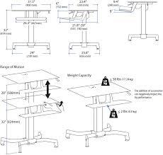 Ergotron Workfit D Sit Stand Desk by Standing Desk Ergotron 24 280 928 Workfit Pd