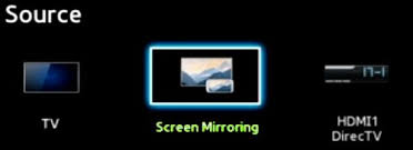 What is Screen Mirroring and how do I use it with my Samsung TV