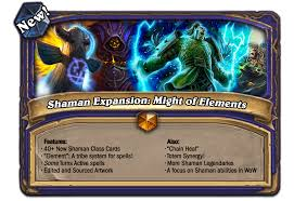 Overload Shaman Deck Frozen Throne by Shaman Expansion Pack Might Of Elements 40 Cards Fan