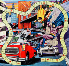 Holy Game Night Batman Several Different Board Games Were Released In The 1960s And 1970s Based On Comic Book Character