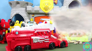 Transformers Rescue Bots Griffin Rock Firehouse Headquarters ...
