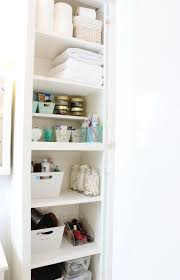 How To Organize Bathroom Closet Super Organized Bathroom Linen ... Bathroom Kitchen Cabinets Fniture Sale Small 20 Amazing Closet Design Ideas Trendecora 40 Open Organization Inspira Spaces 22 Storage Wall Solutions And Shelves Cute Organize Home Decoration The Hidden Heights Height Organizer Shelf Depot Linen Organizers How To Completely Your Happy Housie To Towel Kscraftshack Bathroom Closet Organization Clean Easy Bluegrrygal Curtain Designs Hgtv Organized Anyone Can Have Kelley Nan