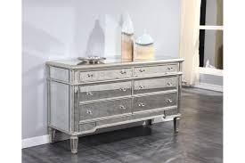 mirrored 6 drawer chest mirror collection items