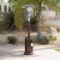 Garden Treasures Patio Heater Thermocouple by Garden Treasures 41 000 Btu 2 Tone Black And Stainless Steel