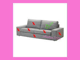 Klippan Sofa Cover Ebay by 3 Seater Sofa Covers Ebay 100 Images Custom Made Cover Fits