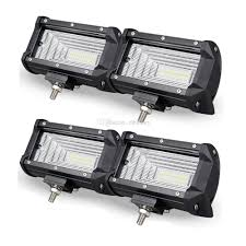 5 Inch 72W LED Bar Work Light Flood Roof Driving Lamp Vehicle ... 4x 4inch Led Lights Pods Reverse Driving Work Lamp Flood Truck Jeep Lighting Eaging 12 Volt Ebay Dicn 1 Pair 5in 45w Led Floodlights For Offroad China Side Spot Light 5000 Lumen 4d Pod Combo Lights Fog Atv Offroad 3 X 4 Race Beam Kc Hilites 2 Cseries C2 Backup System 519 20 468w Bar Quad Row Offroad Utv Free Shipping 10w Cree Work Light Floodlight 200w Spotlight Outdoor Landscape Sucool 2pcs One Pack Inch Square 48w Led Work Light Off Road Amazoncom Ledkingdomus 4x 27w Pod