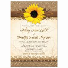 Davids Bridal Wedding Invitations Best Of Invitation Rustic Sunflower Burlap Lace Wood