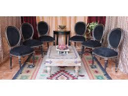 lot chaises médaillon noir 4ème ardt 75004 meubles pas