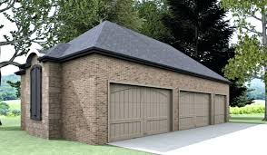 Detached Garage With Grey Wallsdetached 1 Car Plans Single