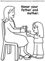 Printable Mothers Day Lesson Coloring Page