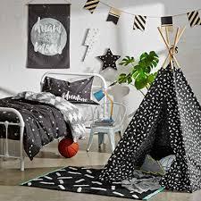 Big Kids Monochrome Bedroom Makeover Kmart Australia Style