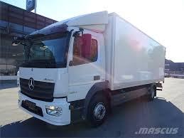 100 Mercedes Box Truck Used Benz Atego 1224 4x2 Umpikori Box Trucks Year 2014