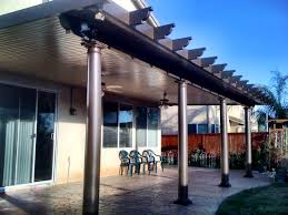 Patio Covers Las Vegas by Exterior Design Exciting Alumawood Patio Cover With Concrete