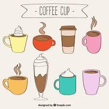 Drawn Coffee Draw Cup 112559