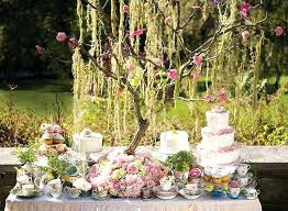 Floral Tea Party Decorations Table Stunning Spring Garden Decor With