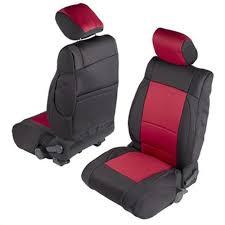 Smittybilt 471630 Wrangler JK Front And Rear Seat Cover Kit Black ...
