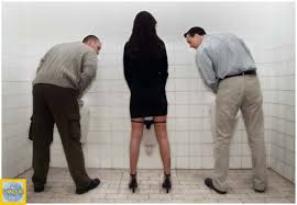 les toilettes publics