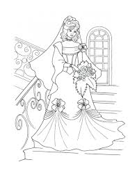 Coloring Pages Princess Barbie Mermaid Free Online Download Large Size