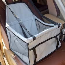 siege de transport pet chien transporteur voiture siège pad sûr de transport pour