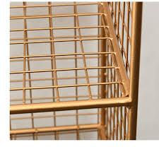 zeitungsständer 3 tier metall eisen wohnzimmer storage rack