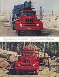1950's IHC International R-Series 6-Wheel Truck Brochure