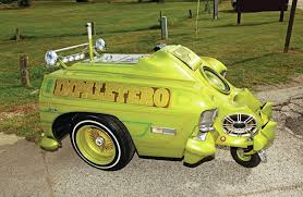 1968 Custom Ice Cream Cart - El Impaetero