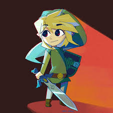Coloriage Zelda Wind Waker
