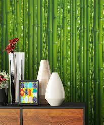 newroom papiertapete blumentapete grün bambus wallpaper floral blumen tapete wald pflanzen wohnzimmer schlafzimmer büro flur kaufen otto
