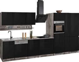 held möbel küchenzeile virginia ohne e geräte breite 390 cm