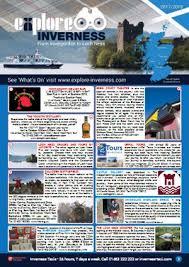 Inverness 2017 Tourist Guide Brochure