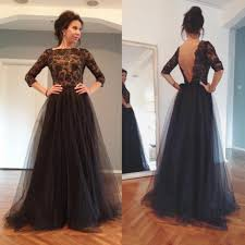 2015 pageant prom dresses lace sheer bateau long sleeve floor