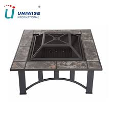 pit table with ceramic tiles pit table with ceramic