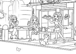 LEGO Friends Coloring Pages Printable
