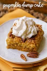 Best Pumpkin Desserts 2017 by Best Pumpkin Dump Cake Lil U0027 Luna