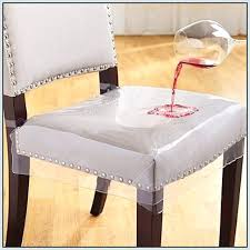 Chair Covers Dining Chairs No Sew Back In My Own How To Make Plastic Room For A Clear Ch